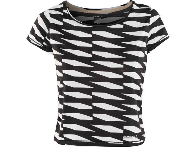 Craft Breakaway Koszulka z krótkim rękawem Kobiety, p trellis black